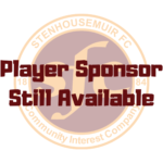 PLAYER SPONSORSHIP – SEASON 2020-21