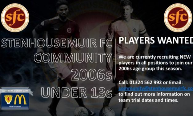 2006s (Under 13s) PLAYERS WANTED