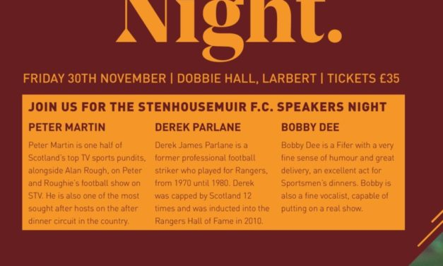 Warriors Speakers Night- JOIN US