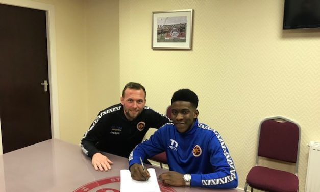New Signing- Tiwi Daramola makes the step up from our U19s