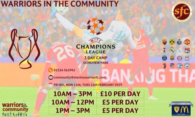 CHAMPIONS LEAGUE 3 DAY CAMP