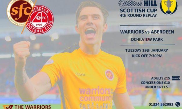 Aberdeen Tickets- 4th Round Replay