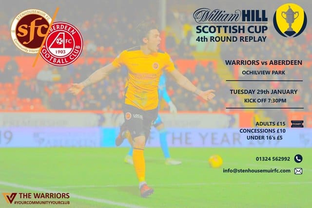 Aberdeen 4th Round Replay – SOLD OUT