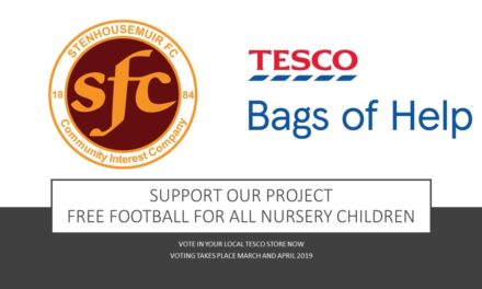 Warriors Win TESCO Bags- Free nursery football available