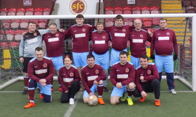 Stenhousemuir FC mental health programme showcased by FIFA