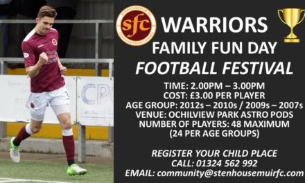 WARRIORS FUN DAY FOOTBALL FESTIVAL