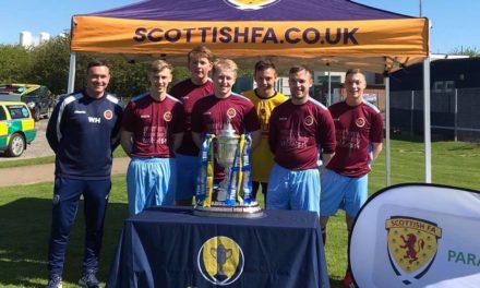 PARA FOOTBALL SCOTTISH CUP FINAL