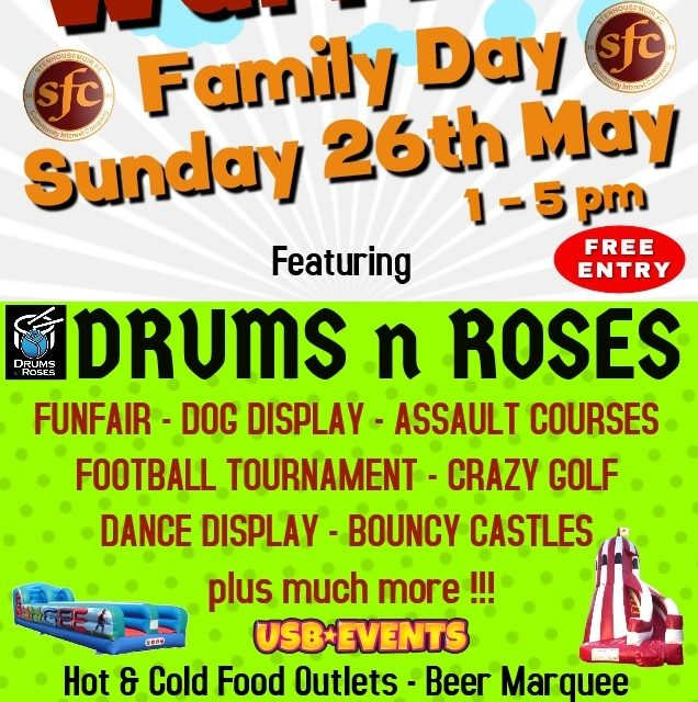 Family Day- Support Your Community Club