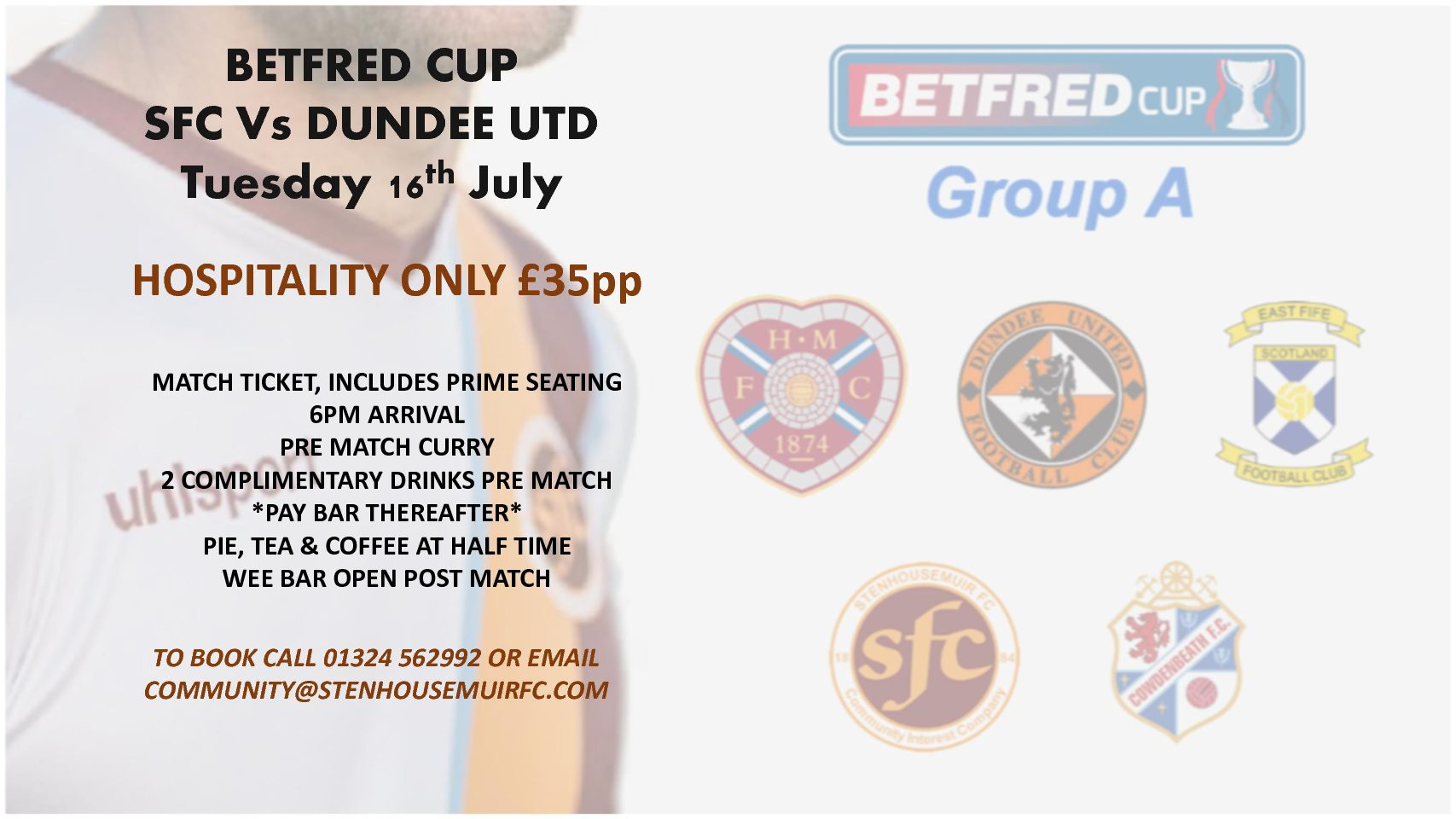 BETFRED Cup – Hospitality now available to book