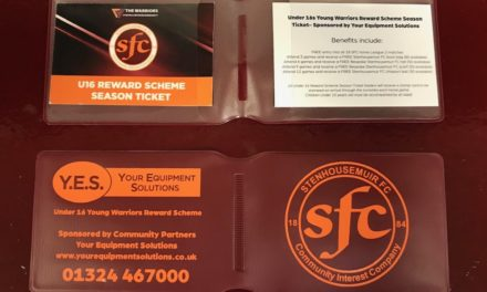 Under 16 Reward Scheme Season Tickets- Get yours before Saturday