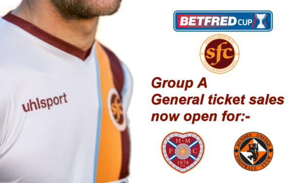 Hearts and Dundee Utd ticket available now