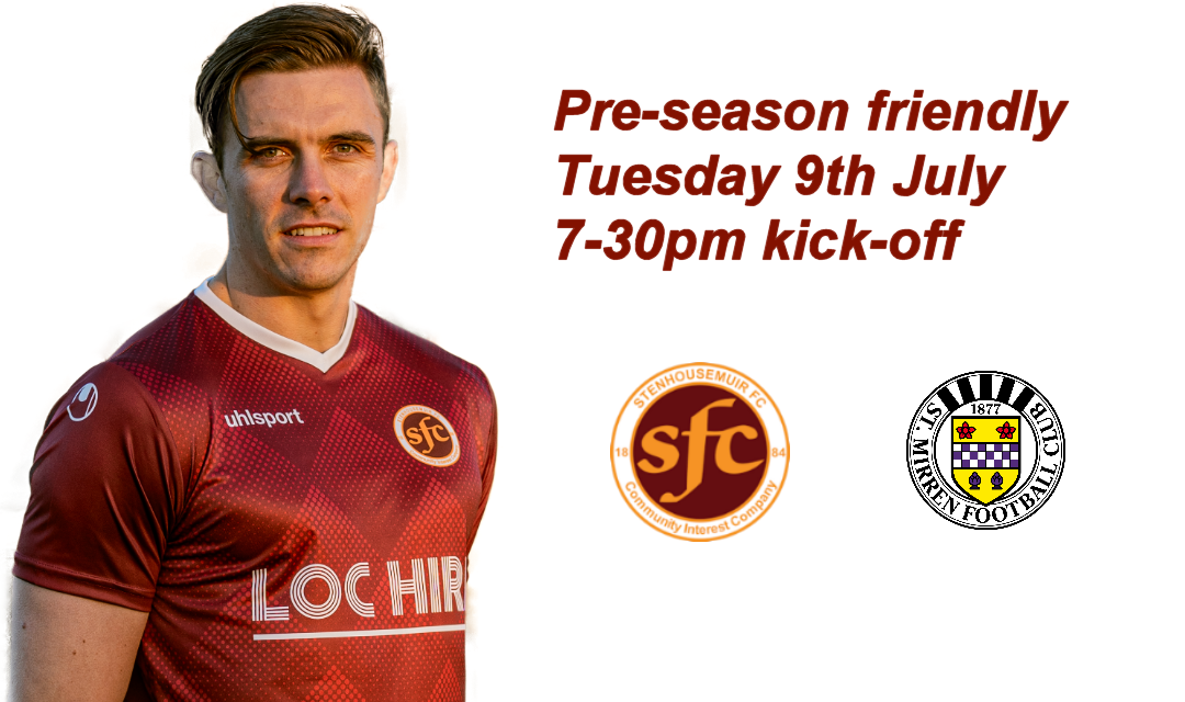 Stenhousemuir v St Mirren friendly – Result 1-1