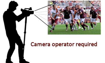 Camera Operator Required