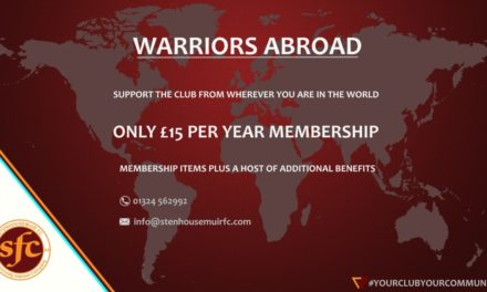 WARRIORS ABROAD- MEMBERSHIPS AVAILABLE
