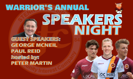 Warriors Speakers Night- Tickets & Tables on Sale