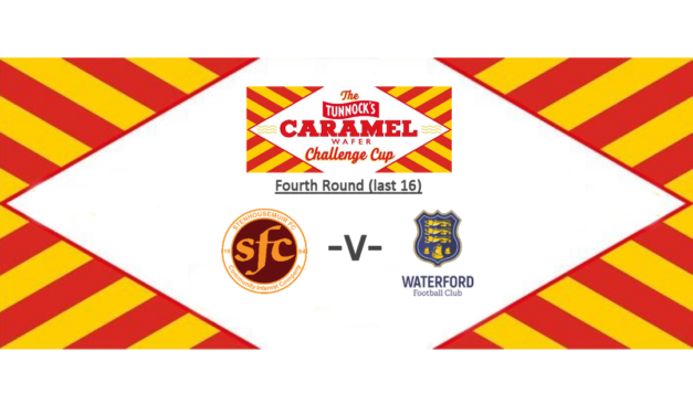Next match – Irish side Waterford in the Challenge Cup