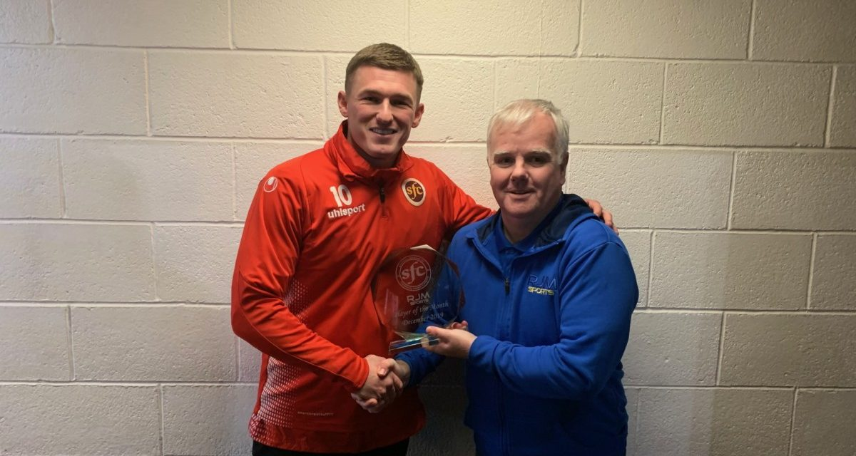 Hoppy wins the RJM Sports Player of the Month