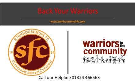 Back Your Warriors