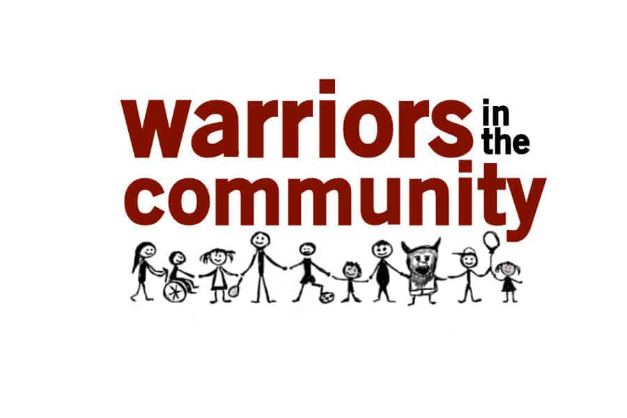 Warriors in the Community- Letter to parents