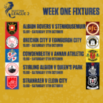 Warriors return to action away to Albion Rovers