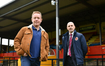 Warriors at the forefront of tech revolution for Scottish football