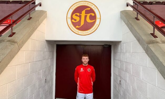 Stenhousemuir sign Martin Shiels