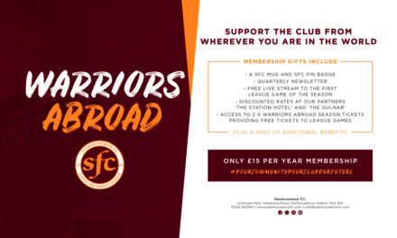 Warriors Abroad – Open to new members