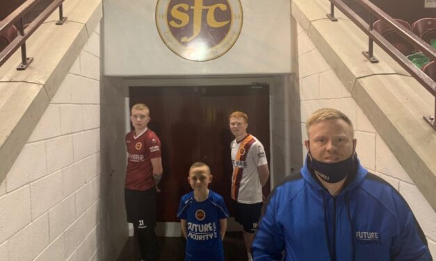Future Security Systems become first sleeve sponsor in the clubs history