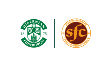 Hibernian and Stenhousemuir form Strategic Partnership
