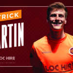 Paddy Martin extends his stay