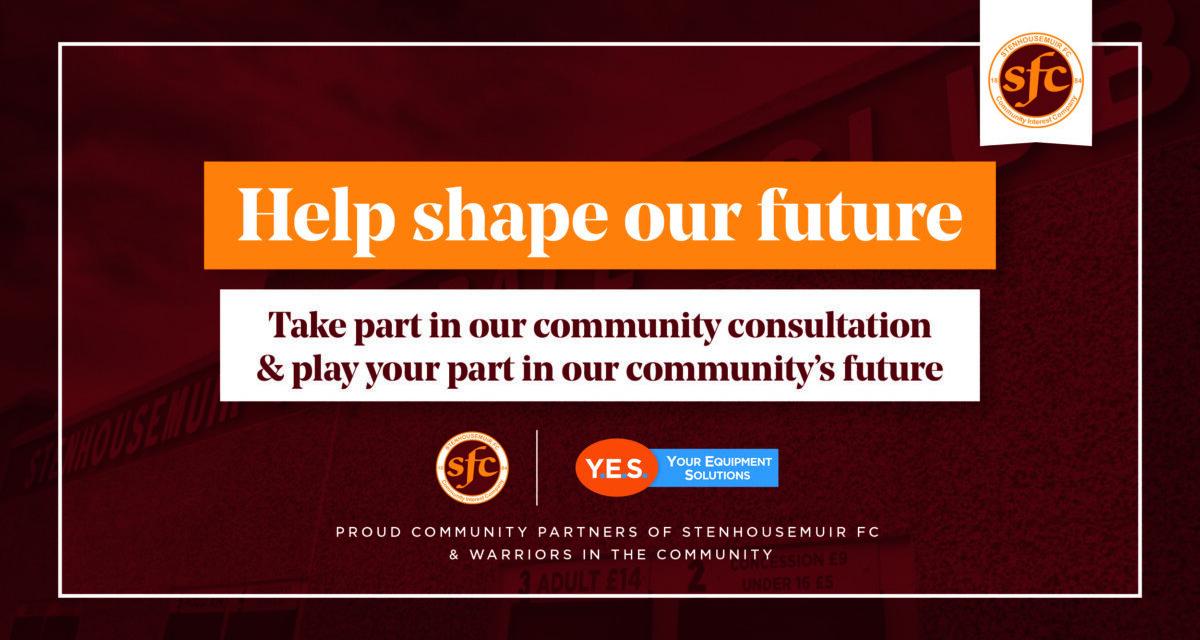 Help us shape the future
