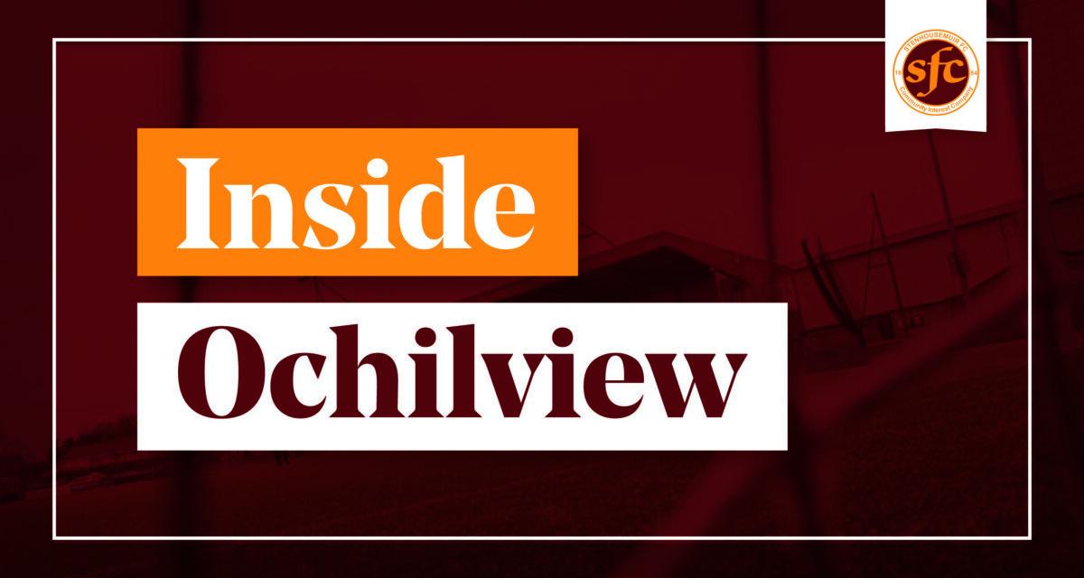 Inside Ochilview – YOUR Weekly Warriors Update (15/4/2021)