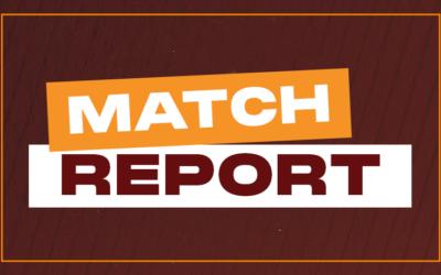 Forfar:  Match Report