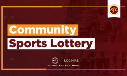 COMMUNITY SPORTS LOTTERY WINNERS- JULY 2021