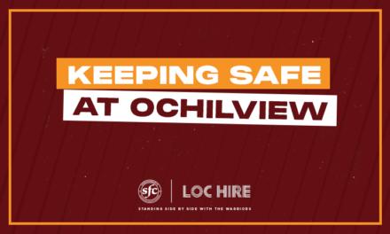 KEEPING SAFE AT OCHILVIEW