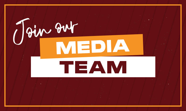 Join our Media Team